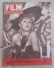 FILM MAGAZINE N° 67 SUZY DELAIR LISETTE LANVIN VIVIANE ROMANCE VIVIAN LEIGH