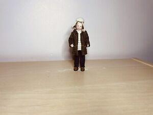 OOAK 12th scale Dollhouse Polymer clay Miniature Doll Boy.