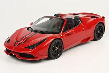BBR 2014 Ferrari 458 Speciale A Spider Rosso Corsa 322 P18102R 1:18*Brand New!