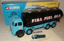 Corgi 27201 Atkinson Elliptical Tanker Set, for Fina Fuel Oils in 1:50 Scale.