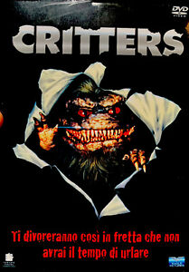 CRITTERS 1  2  3  4 - COFANETTO 4 DVD - Cellophanato