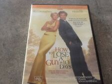 How To Lose A Guy In 10 Days Region 4 DVD 2003 Matthew McConaughey