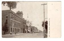 IA - OSKALOOSA IOWA 1908 Postcard LACEY HOTEL