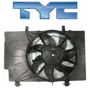 Ford Fiesta 2011-2017 TYC Dual Radiator & Condenser Fan