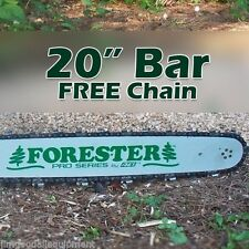 "20"" Forester Laminated Bar w/Free Chain 3/8"" pitch, 050 gauge,72 link Fits Stihl"