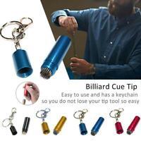 Prep Stick Billiard Pool Snooker Table Cue Tip Shaper Pick Metal Repair Tool Kit