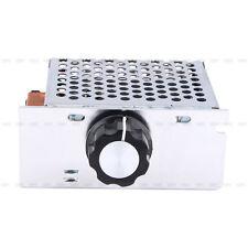 4000W AC 220V SCR  Regulator Spannungskontroller  Speed  Leistungsregler Schale