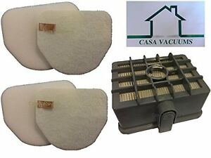 Shark NV450 Filters; 1 Hepa,2 Foam & 2 Felt; compare to part # XFF450 & XHF450