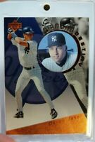 1996 Upper Deck Diamond Destiny SP DEREK JETER Rookie RC #DD28, Holoview Insert