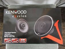 "KENWOOD KFC-X174 KFCX174 6 1/2"" WOOFER 1"" TWEETER FLUSH MOUNT SPEAKERS 6.5"" NR"