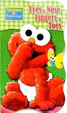Sesame Street Beginnings BOARD BOOKS Baby Big Bird Cookie ELMO ~ Eyes & Nose