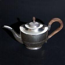 Antike 924 Silber Kanne Teekanne Niederlande um 1920 Begeer Uetrecht Bachelor