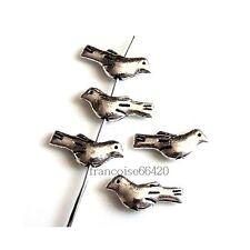 10 Intercalaires spacer Oiseau 14.5x6x3mm Perles apprêts création bijoux _  A185