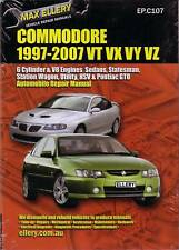 ELLERY REPAIR MANUAL HOLDEN COMMODORE VT VX VY VZ 97-07