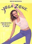 Yoga Zone - Premiere Collection 4-Pack (DVD, 2002, 4-Disc Set)
