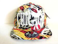 CHICAGO THEME MULTI COLOR SNAPBACK CAP