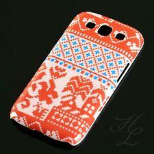Samsung Galaxy s3 i9300, funda rígida celular cáscara, funda protectora, funda, protección motivo estuche rojo rosa
