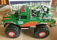 NEW HESS 2007 Monster Truck with Motorcycles  - Lights, Sounds & Friction Motors