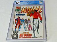 New Mutants #99 CGC 9.4 NM Marvel Comics 1991 First 1st Appearance Shatterstar