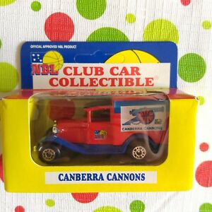 NBL Club Car Matchbox Collectible Canberra Cannons 1995
