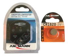 More details for led battery tester for button / coin cells 3v & 1.5v original ansmann ( 1-pack )