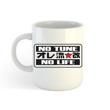 NO Tune No Life LOGO 313ml (300ml) estampado Taza Jarro Para Café