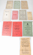 Discharge Papers, Books, Photos Of 91 Reggimento Fanteria Wwi Soldier