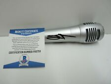 Sammy Hagar Van Halen Signed Autographed Microphone Beckett Certified #2