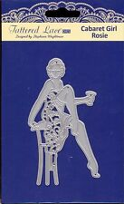TATTERED LACE cutting Die - CABARET GIRL ROSIE - Woman