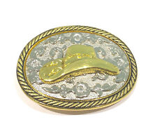 New Western Belt Buckle Western Cowboy Hat Rodeo Cowgirl
