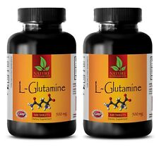 Muscle Builder - L-GLUTAMINE 500mg - Supports Workout - Endurance - 200 Tablets