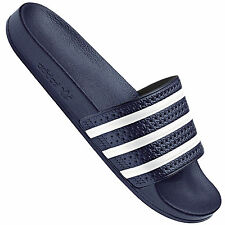 1ff581c151e5 adidas Adilette Unisex Slide Navy White Shoes 7 UK