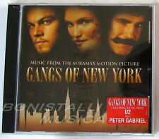 GANGS OF NEW YORK - SOUNDTRACK O.S.T. - CD Sigillato