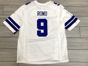 NIKE Dallas Cowboys Home Football Jersey Tony Romo ON FIELD $100 Authentic