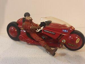 Akira Kaneda and Bike Figure McFarlane Rare
