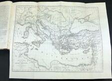 Libro Antico Illustrato - Storia delle Crociate con Incisioni in Rame 1842