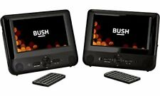 Bush 8791C Multi-Region Dual 7 in Car Headrest DVD Player Plays 2 Movies at Once