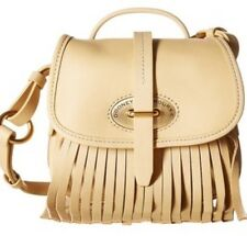 Dooney & Bourke Lulu Fiona Leather Crossbody Bone Fringe BLULU0283 $248