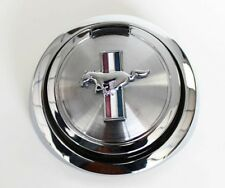 NEW! 1967-1968 Ford Mustang Gas Cap Pop Open Pony Emblem Chrome Free Shipping!