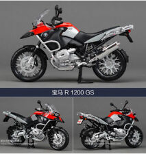 1:12 Diecast Motorcycle Model MAISTO R1200GS Water Bird Vehicle Toy Collection