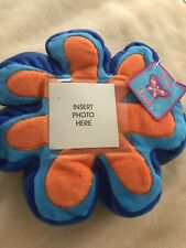 Blue Flower Soft Picture Frame For Child New With Tags