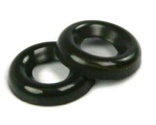Cup Washers Black 18-8 Stainless Steel Finishing Cup Washers - Sizes #4 To #14