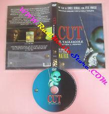 DVD film CUT IL TAGLIAGOLE Kimble Rendall Kylie Minogue 30 HOLDING no vhs (D7)