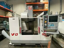Haas Vf 0 Cnc Vertical Machining Center 20 Hp 4th Axis Ready Side Mount 2001