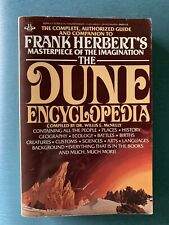 Dune Encyclopedia Dr. Willis McNelly Paperback 1984 -First Edition- EX