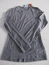 Icebreaker Merino Wool Women's Small Sprite LS Shirt Base Layer Gritstone New