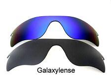 Galaxis Ersatzglas für Oakley Radarlock Path Sonnenbrille Schwarz & blau