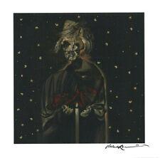 """SIGNED! Dave McKean's """"Der müde Tod"""" • homage/Fritz Lang's silent film • 11 x 11"""