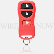 Car Key Fob Keyless Entry Remote 3B Red For 2002 2003 Infiniti QX4