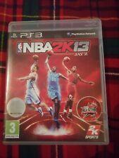 NBA 2K13 Juego de Jay Z PLAYSTATION 3 PS3 Buen Estado